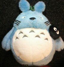 Very Rare Official My Neighbor Totoro by Studio Ghibli Studio Ghibu Plush Blue