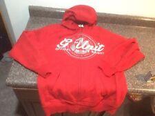 G Unit Hoodie Men's Large Red Full Zip 50 Cent Heavy Sweatshirt
