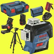 Bosch lignes laser Set Gil 3-80 C + support bm1 + Trépied bt150