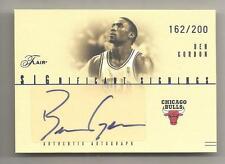 2004-05 Flair Basketball Ben Gordon Significant Signings Auto Card # 162/200
