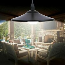 Solar Powered Hanging Garden Shed Light Lamp Outdoor Garage Remote Control