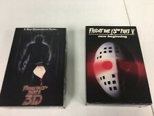 NECA Friday The 13th Part 3 3D & 5: V New Beginning 7 Inch Action Figure New Lot