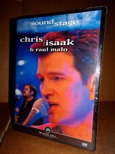CHRIS ISAAK & RAUL MALO Sound Stage DVD NUOVO SIGILLATO!!!