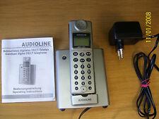 Schnurloses Telefon , Audioline DECT 7500 + , Fehler: Lautstärke zu gering