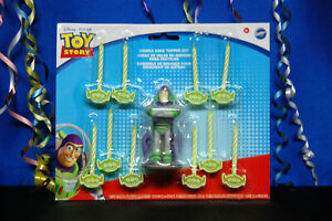 Toy Story Candle Set Toy Story Buzz Lightyear Candle Toy Story Aliens Candles