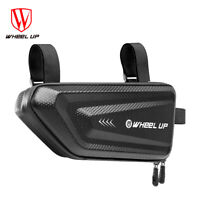 1.5L Cycling Bike Front Frame Triangle Bag Tube Pouch Holder Bicycle Saddle /