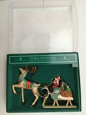 "1985 Hallmark Special Edition Ornament "" The Spirit of Santa Claus """