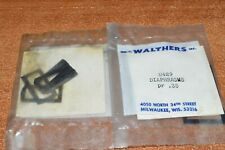 HO scale PARTS Walthers U429 passenger car diaphragms (2 packs)