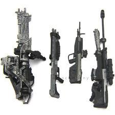 Lot 4Pcs Accessory gun weapon Marksman Sniper Rifle Machine Turret Figures Toys
