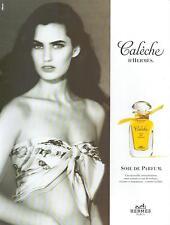 ▬► PUBLICITE ADVERTISING AD Parfum Perfume Hermès Calèche Soie de parfum 2012