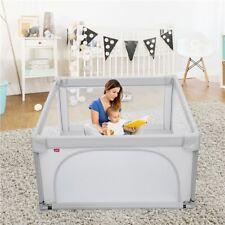 Baby-Laufstall,tragbar Kinder-Laufgitter bunter Spielstall Kinderzaun mit Tor