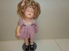 """Vintage Early Composition Shirley Temple Doll 13"""""""