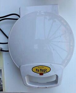 Breville Pie Magic  Non Stick Quad Pie Maker / Built-In Crimping Edge Unboxed