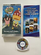 The Spongebob Squarepants Movie (PSP UMD, 2005) - CIB COMPLETE IN BOX