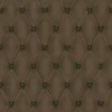Rasch Vliestapete COSMOPOLITAN 576214, Chesterfield, Leder-Optik, braun, 5,3m²
