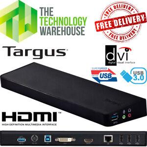 Targus ACP70EU Docking Station - Universal Laptop Compatibility Inc. accessories