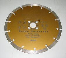 Diamanttrennscheibe ø 200 mm Beton passend für Lamello Fensterfräse Trennscheibe