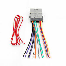 Aftermarket Stereo Radio Harness Cable Plug Adapter for Buick Hummer Pontiac