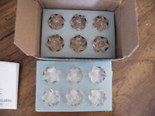 Partylite/12 P9707 Celebration Birthday Cake Glass Candle Holders/Retired/New