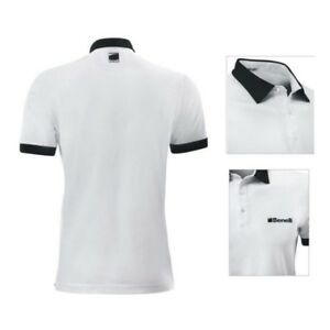 Polo BENELLI Blanc