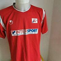 maillot  de football ligue football d'aquitaine taille L uhlsport