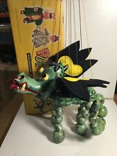 Vintage Pelham Puppets Mother Dragon A1 Within Its Original Box
