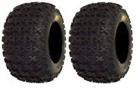 Pair 2 Sedona Bazooka 20x11-8 ATV Tire Set 20x11x8 20-11-8