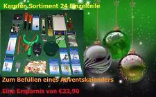 Adventskalender Karpfen(2) 24 Einzelteile  Anglergeschenk Karpfenzubehör Zubehör
