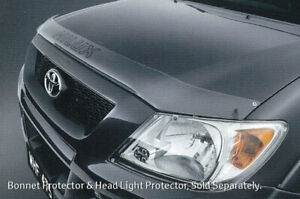 Genuine Toyota TRD Hilux Headlight Covers Aug 2008 - Mar 2009 PZQ14-89050