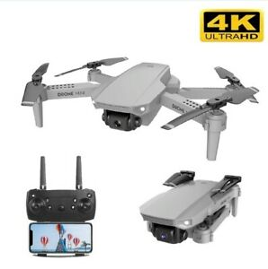 Drone 4K 1080P HD Camera Wide Angle Real-Time Wifi FPV Quadcopter Dual Camera