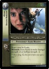 LOTR TCG Legolas/' Sword 5U12 Battle of Helm/'s Deep Lord of the Rings  MINT FOIL