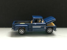 2019 Matchbox > Moving Parts 1:64 > '63 Chevy C10 Pickup Truck, Blue Loose