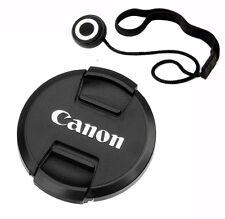 77mm Snap-On Lens Cap + Lens Keeper for Canon DSLR Lens replaces E-77U