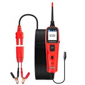 Autel PowerScan PS100 Electrical System Circuit Tester 12V/24V Car OBDII Scanner