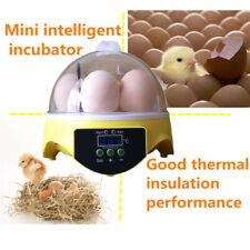 U.S./EU/AU/UK Plug 7 huevos incubadora automática de huevo digital hatchers Temp