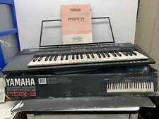 Yamaha PSR-3 keyboard Tested And Works Includes Music Holder And Instructions