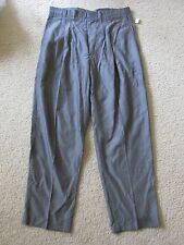 New with Tags Men's LL Lawrence Limited Gray Dress Pants 34x30 Vintage USA Made