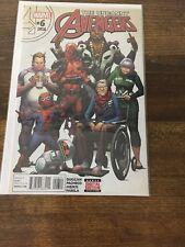 Uncanny Avengers #6 (2016) Marvel Comics - Comic Book