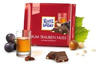 Ritter Sport Rum-Trauben-Nuß mit echtem Jamaika-Rum 100g 12er Pack