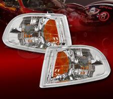 FOR 92-95 CIVIC 2DR 3DR HB EURO CLEAR LENS CORNER TURN SIGNAL LAMPS LIGHTS L + R