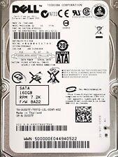 "Dell 160GB 7.2K 3G SATA 2.5-Inch Laptop Hard Drive SFF 3Gbps HDD 2.5"" Toshiba"