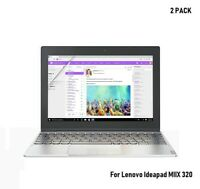 2 x Ultra Clear PET Screen Protector Cover For Lenovo Ideapad MIIX 320