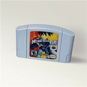 Mega Man 64 (Nintendo 64, 2001) USA Version NTSC Format
