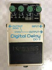 Boss DD-2 Digital Delay Guitar Effect Pedal  MIJ  VINTAGE  FREE SHIPPING