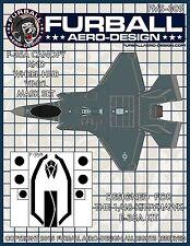 1/48 Furball F-35A Lightning II Vinyl Mask Set for the Kittyhawk Kit
