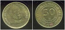PEROU  50  centimos  1988