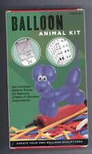 New Balloon Animal Craft Kit Includes Pump and Stickers!