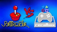Raspberry Pi y PC. Listado de miles de ROMS para descargar, Recalbox, Retropie