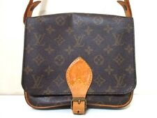 Authentic LOUIS VUITTON Monogram Cartouchiere MM M51253 Shoulder Bag 8902SL