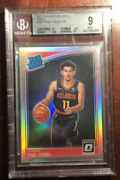 2018-19 Donruss Optic Trae Young Holo Silver Refractor #198 Rookie RC BGS 9